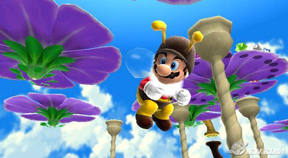 Super Mario Galaxy Wii Screenshot