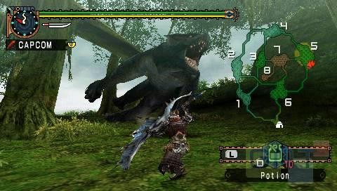 Test Monster Hunter Freedom Unite Psp Image