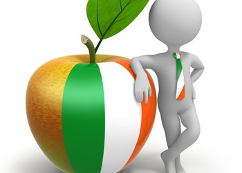 Irish business apple