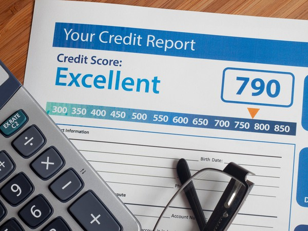 Credit Report Credit Score With Calculator Getty