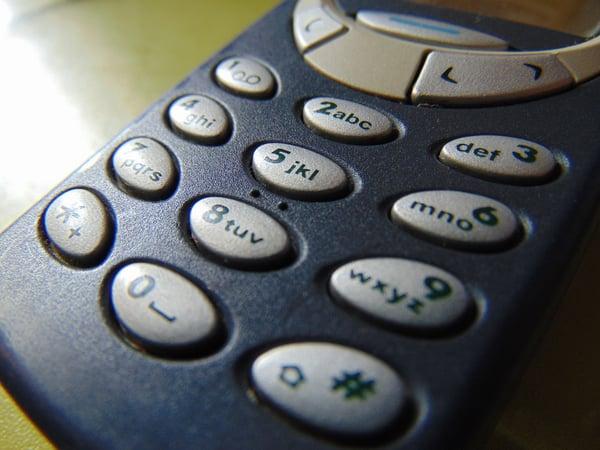Classic Nokia 3310 Pixabay