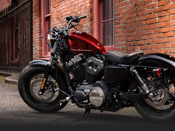 harley davidson sportster forty-eight red source-hog