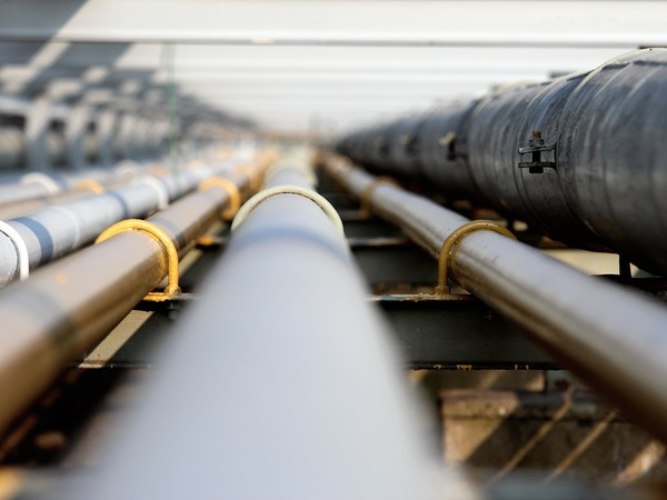 A group of pipelines.