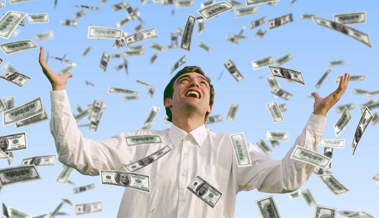 raining money 1500