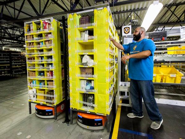 Amazon Picker Warehouse