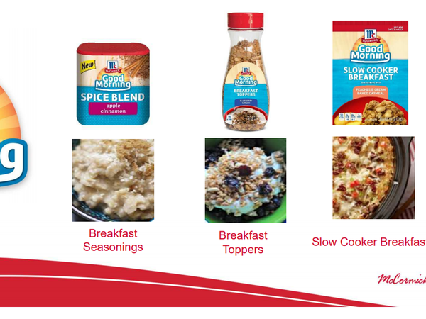 McCormick Good Morning Products1