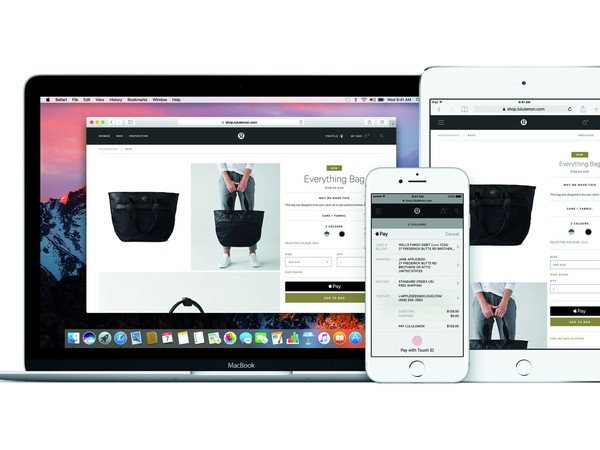 Apple Pay across all devices Image source Apple Inc
