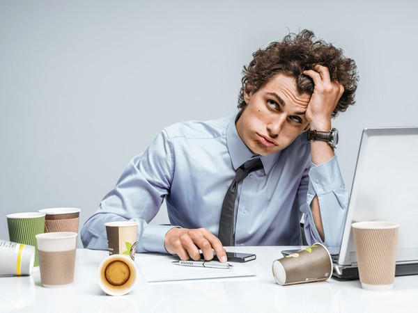 Frustrated man GETTY