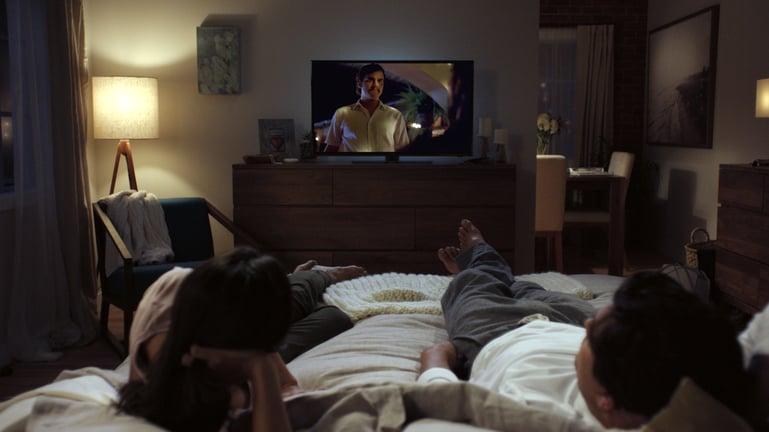 Netflix bedroom
