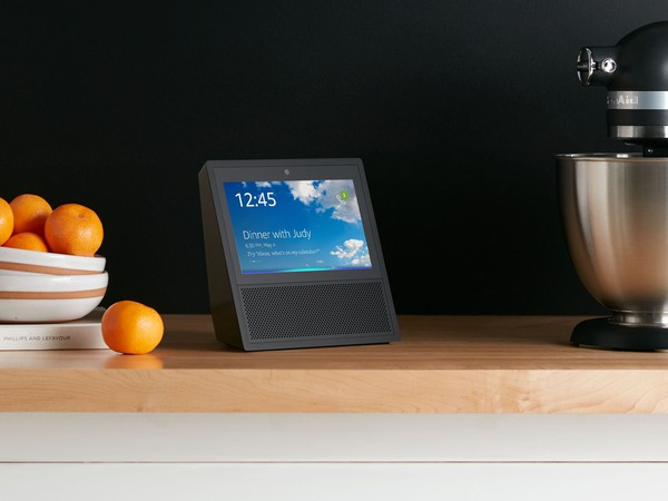 Amazon Echo Show, Black, Kitchen Counter