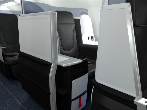 Airline-JetBlue Airways JBLU Airbus A321 Mint Cabin
