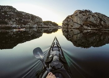 GoPro kayaking