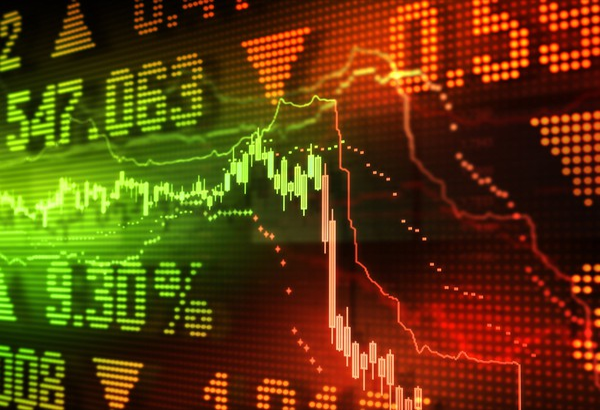 Stock Market Crash on Board Getty