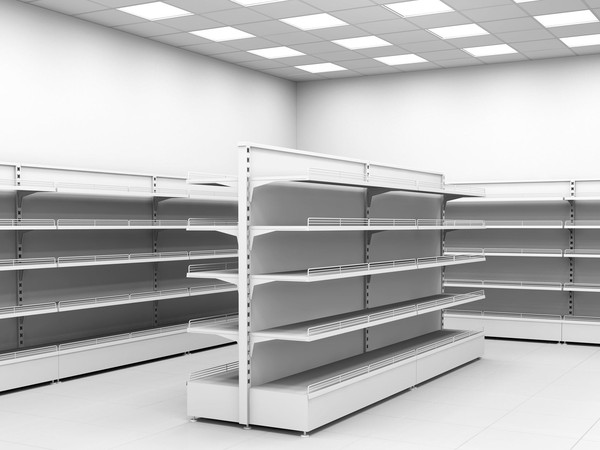empty store shelves retail getty