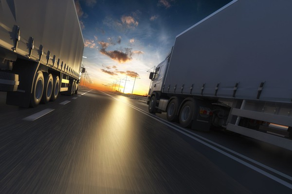 trucks tractor trailers rush enterprises getty
