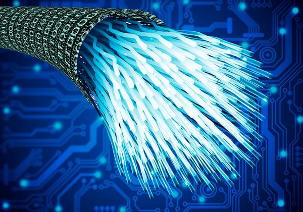 fiber optic cable data telecom getty