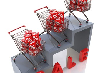 On sale - shopping carts