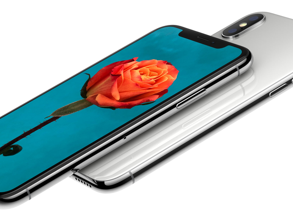 iPhone X side flower
