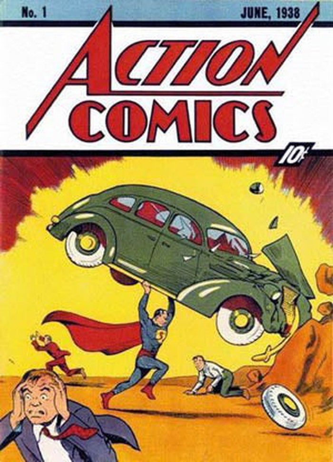 Action Comics 1, amazon stock article