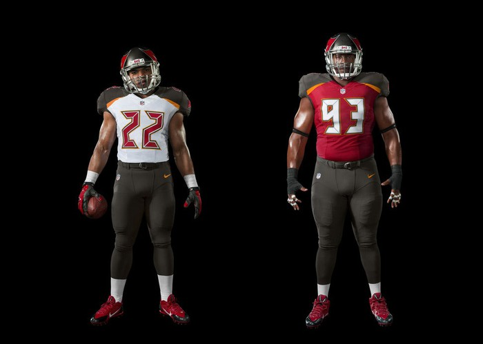 71d11043 Following in the footsteps of the Seattle Seahawks, Miami Dolphins,  Minnesota Vikings, and Jacksonville Jaguars, the Tampa Bay Buccaneers'  jerseys will look ...
