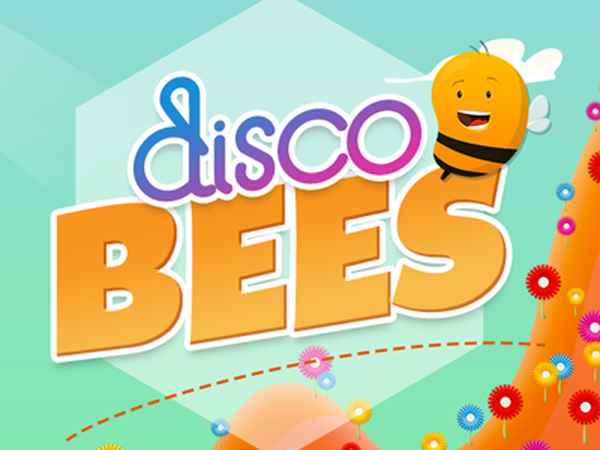 disco-bees-flowers-logo-with-bee-white-hex-400-333