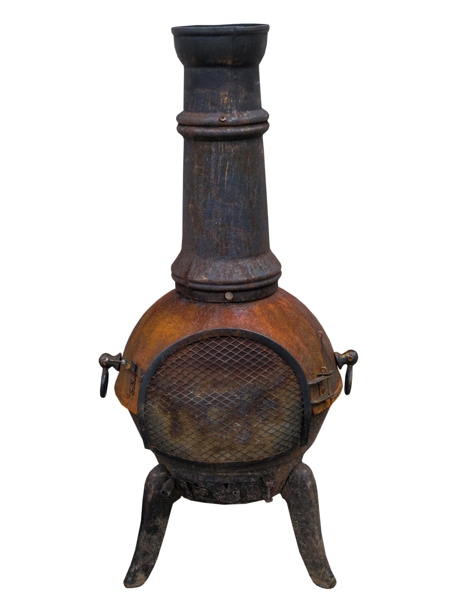 A potbelly stove