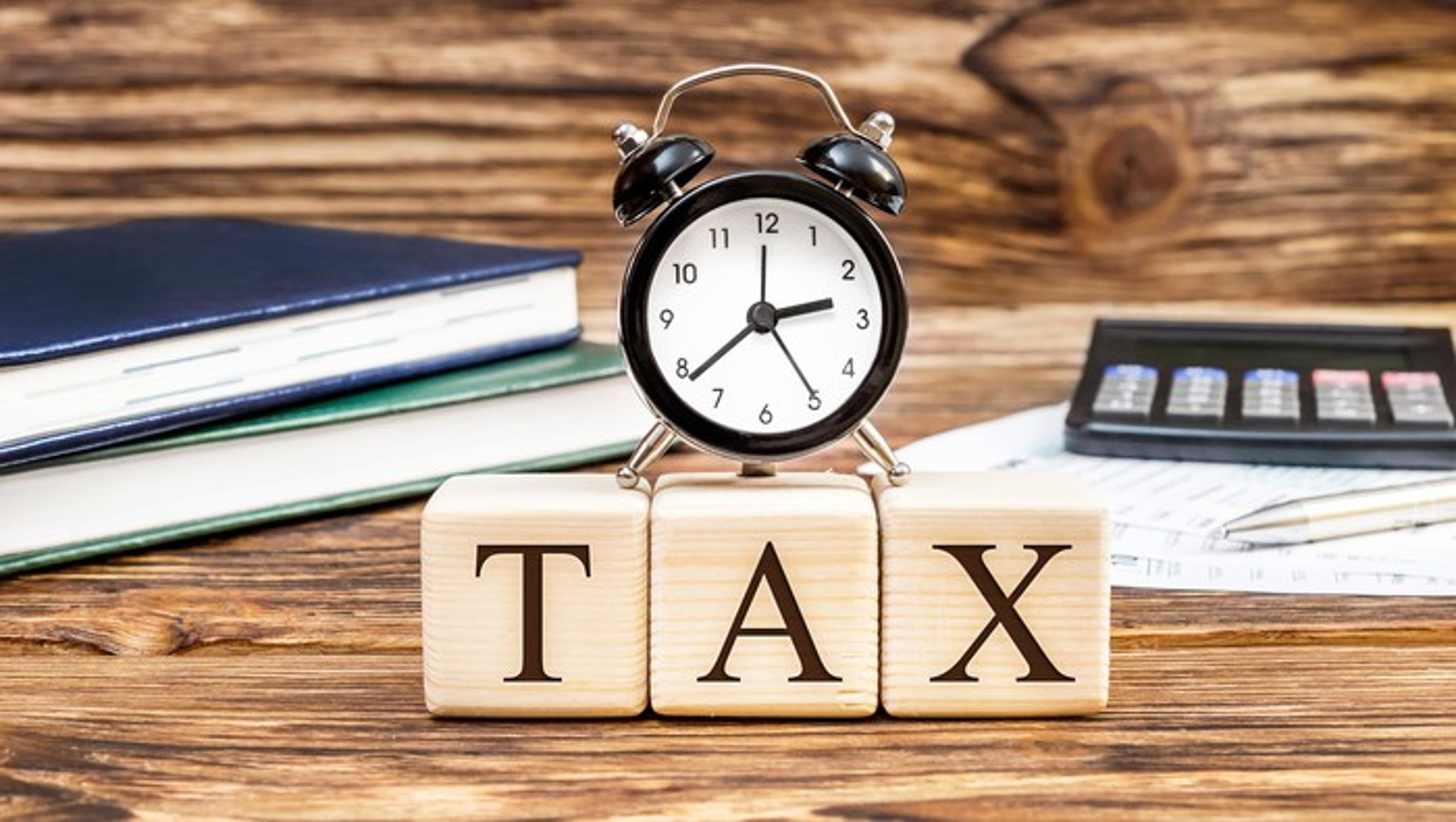 Tax on office clock
