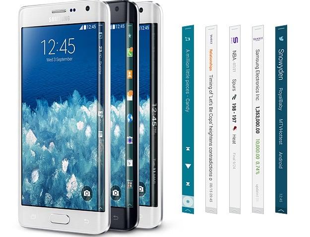 Samsung Galaxy Note 4, Galaxy Note Edge