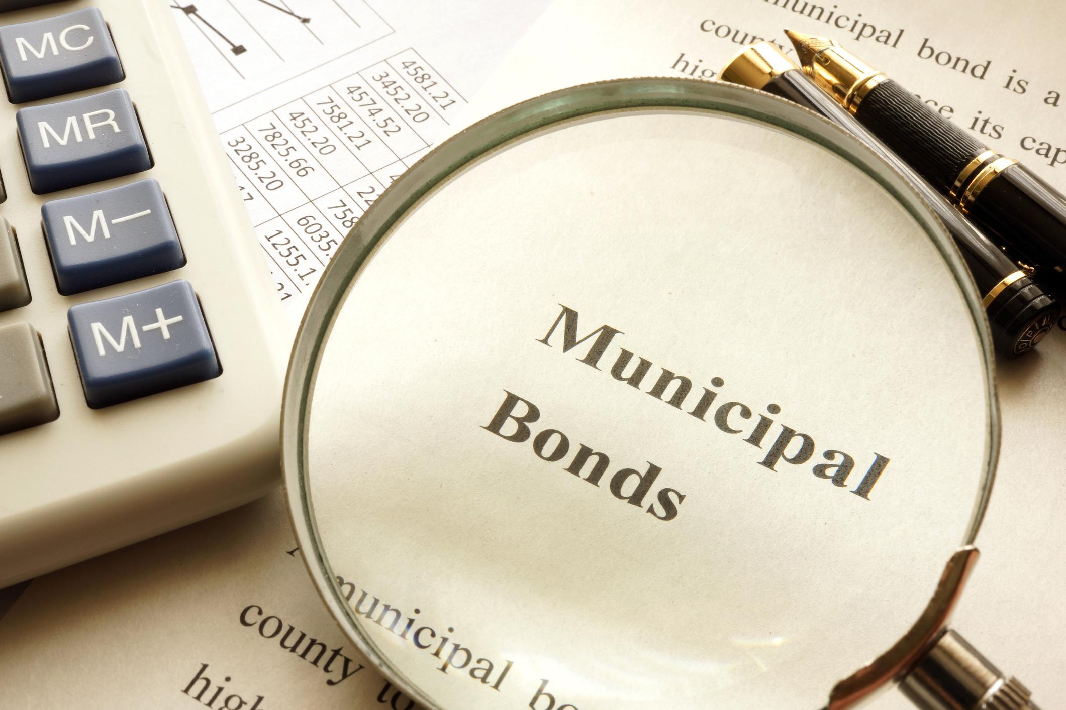 municipal bond and calculator