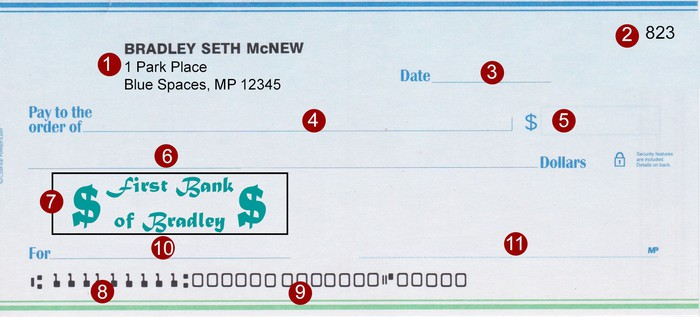 What Are The Parts Of A Check The Motley Fool
