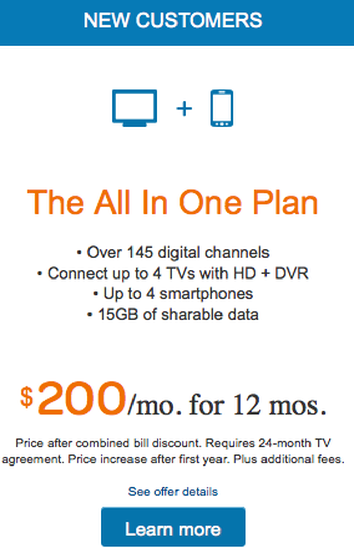 Contract Required Heres What Att Is Doing With Directv The