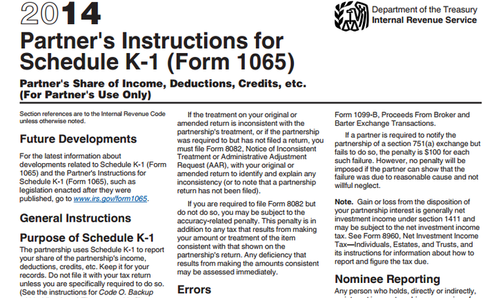 The Schedule K-1 Form Explained | The Motley Fool