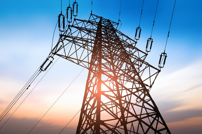 High-voltage electricity tower