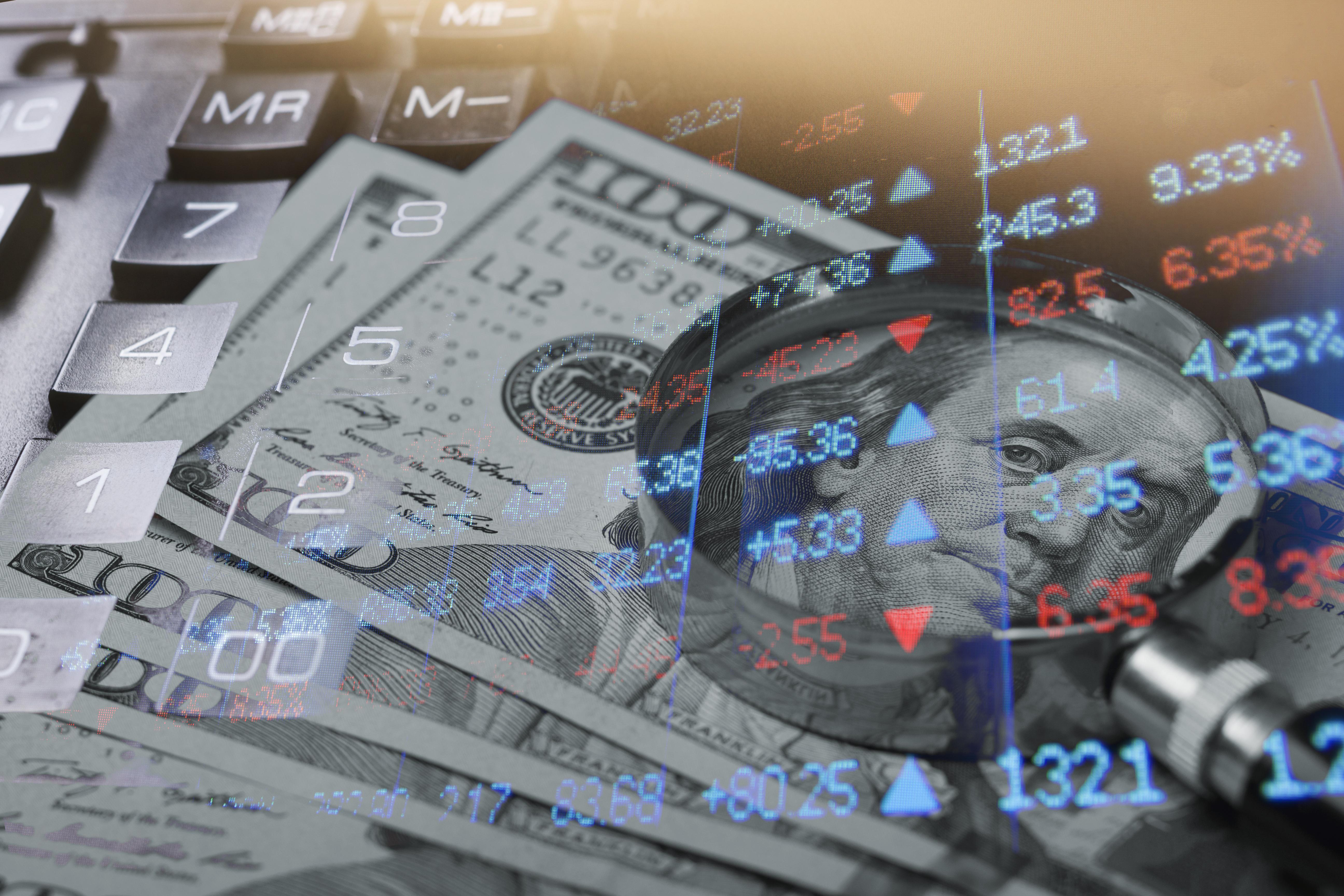 Money and tickers