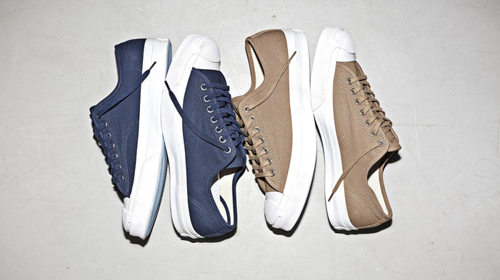 Converse Jack Purcell Signature Jungle Cloth collection