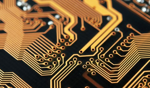 Circuit board by Getty