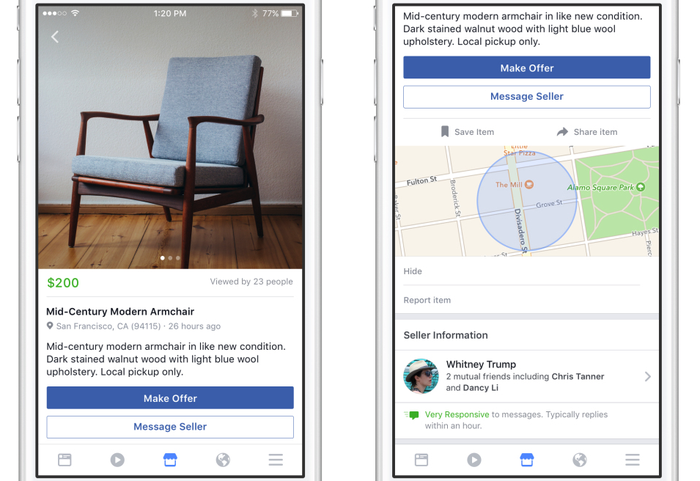 Facebook, Inc  Rolls Out Marketplace -- What Investors Need