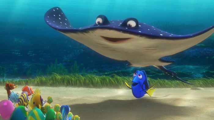 Still image from Finding Dory