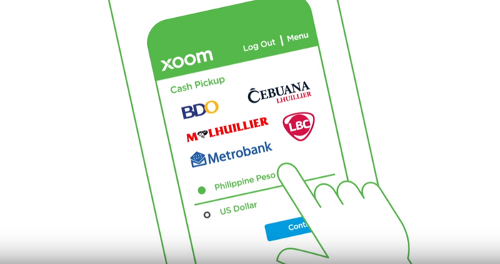 Still Image From Video Demonstrating The Ease Of Use Paypal Subsidiary Xoom S Remittance Source Holdings Inc