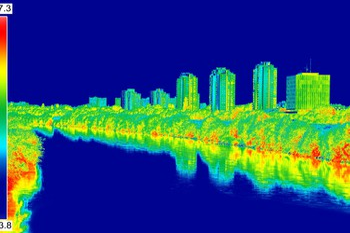 Infrared Sensor Cityscape