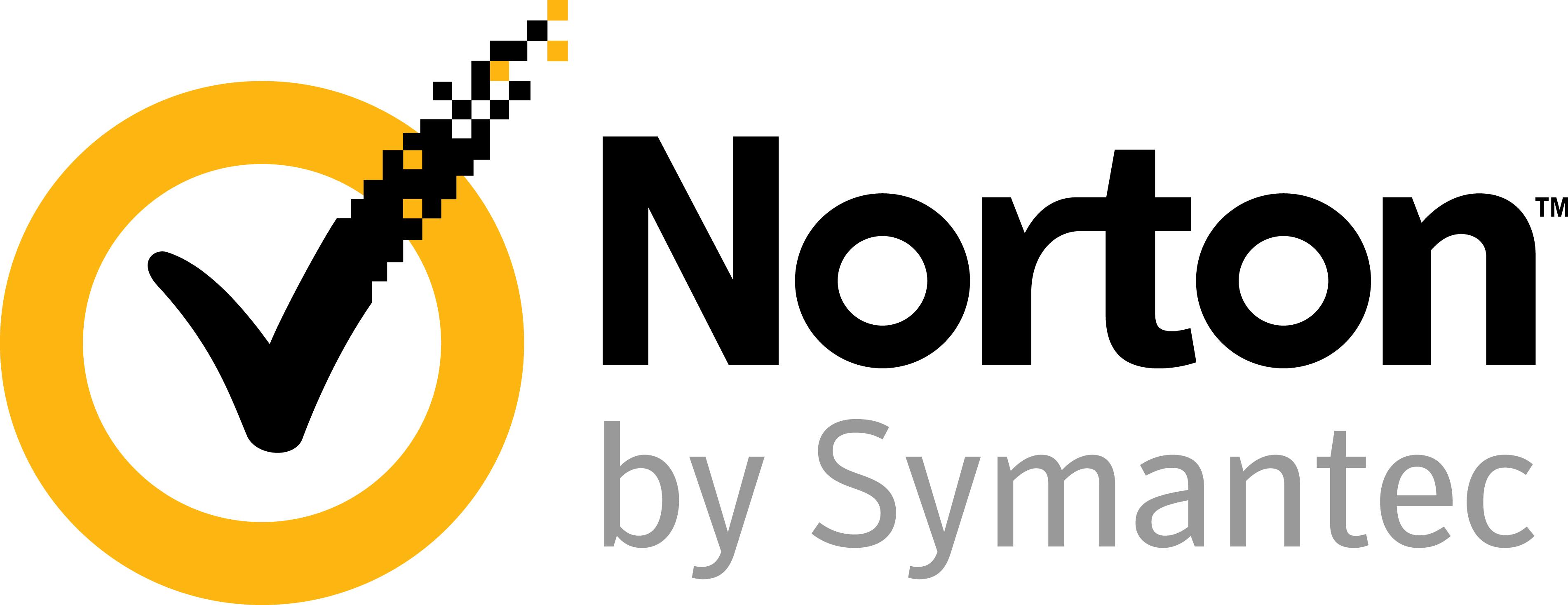 Logo of Norton by Symantec.