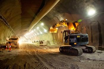 155 excavator getty