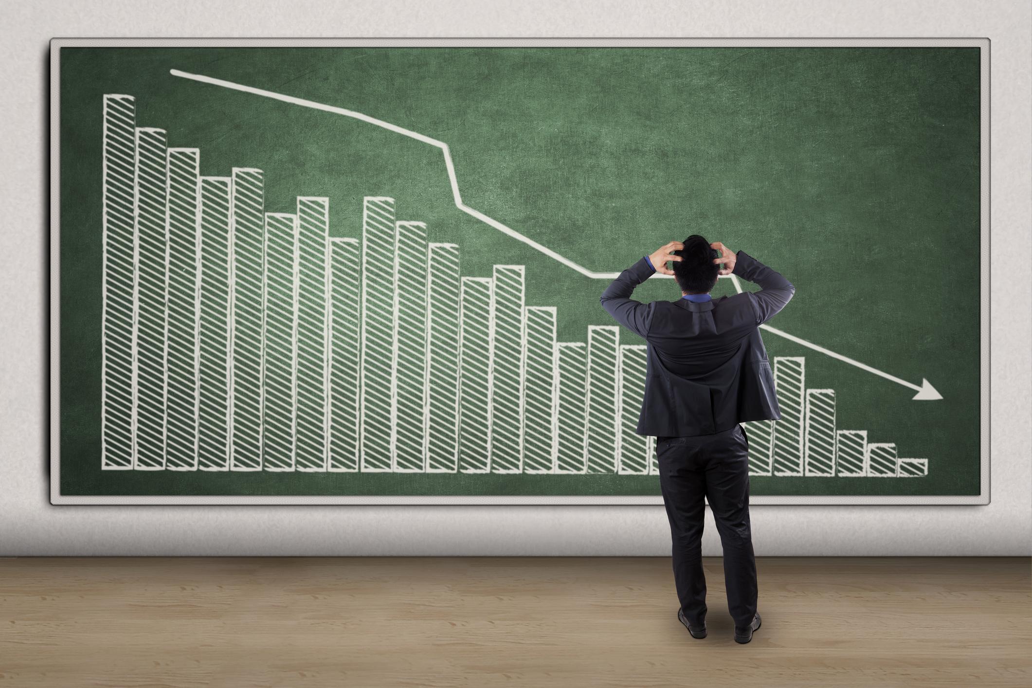 Valeant Pharmaceuticals stock price falling