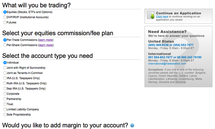 How to Sign Up for a TradeStation Online Brokerage Account: A Step
