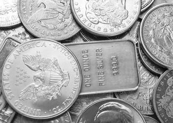 Silver coins GettyImages-482337245