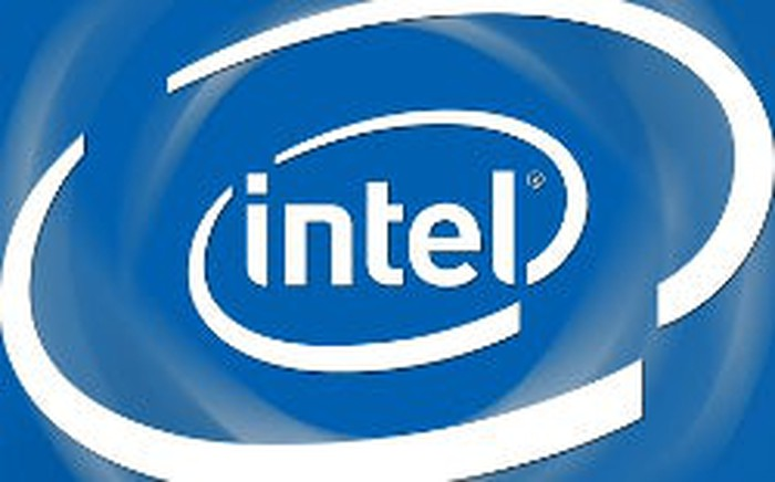 "The familiar ""Intel Inside"" logo."