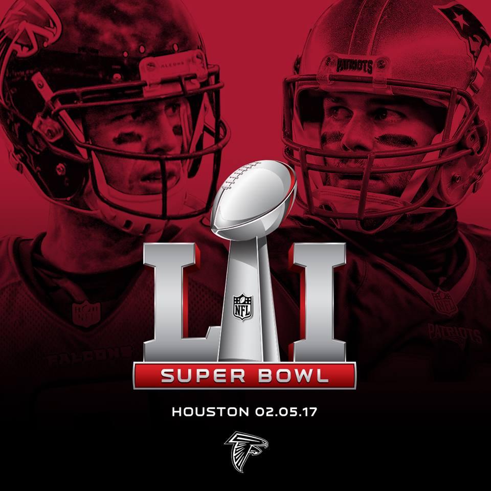 NFL Super Bowl LI poster