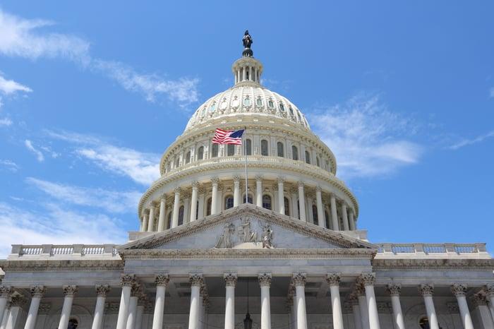 The U.S. Capitol dome in Washington, D.C.