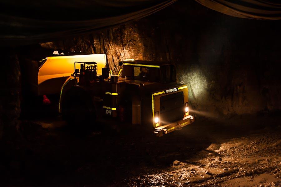 Underground at Richmond Mines Island Gold Mine project