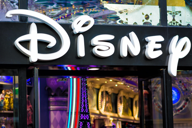 Disney store window